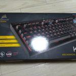 ゲーミングキーボード Corsair K63 レビュー