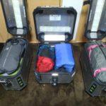 アフリカツインのソロキャンプツーリング装備